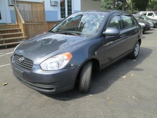 Used 2009 Hyundai Accent Auto GL-SUPER CLEAN-CARPROOF NO ACCIDENTS for sale in Scarborough, ON