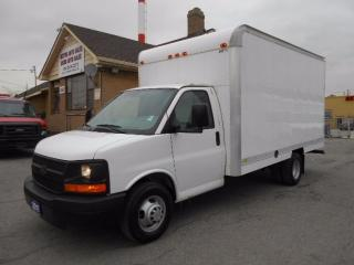 Used 2011 Chevrolet Express 3500 Cube Van 14Ft Aluminium Box Loaded ONLY 75,000KMs for sale in Etobicoke, ON