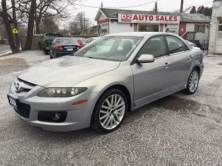 Used 2006 Mazda MAZDASPEED6 Rare 6 Speed Manual AWD/LOW KM/Certifed for sale in Scarborough, ON