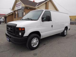 Used 2011 Ford E150 CARGO 4.6 V8 A/C Tilt Divider Shelving Certified for sale in Etobicoke, ON