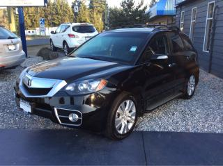 Used 2011 Acura RDX Tech Pkg for sale in Parksville, BC