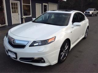 Used 2014 Acura TL A-Spec for sale in Parksville, BC