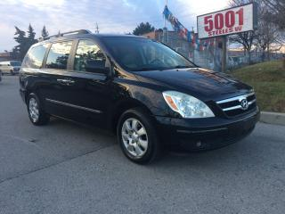 Used 2007 Hyundai Entourage LTD,LEATHER,P/SLIDING,SAFETY+3YEARS WARRANTY INCLU for sale in North York, ON