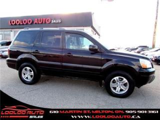 Used 2005 Honda Pilot EX-L 4X4 LEATHER SUNROOF for sale in Milton, ON