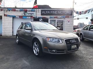 Used 2006 Audi A4 AVANT ACCIDENT FREE ((CERTIFIED)) for sale in Hamilton, ON