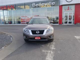 Used 2014 Nissan Pathfinder SL 4WD 1 OWNER LOCAL TRADE for sale in Belleville, ON