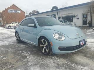 Used 2012 Volkswagen Beetle 2.5L HIGHLINE W/ NAV for sale in Waterdown, ON