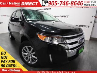 Used 2014 Ford Edge SEL| AWD| LEATHER| DUAL SUNROOF| for sale in Burlington, ON