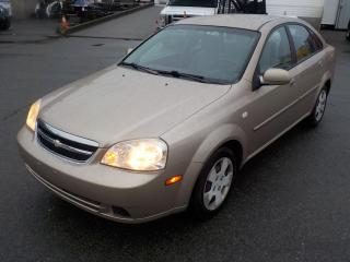 Used 2005 Chevrolet Optra LS Sedan for sale in Burnaby, BC