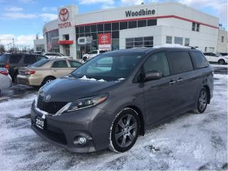 Used 2015 Toyota Sienna SE 8 PSSG+LTHR+PWR DOORS+B/UP CAM+ALLOYS+MORE for sale in Etobicoke, ON