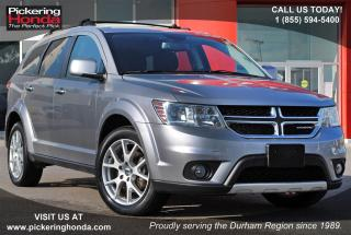 Used 2016 Dodge Journey R/T LEATHER HEATED SEATS REAR CAMERA for sale in Pickering, ON