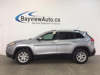 Used 2014 Jeep Cherokee NORTH EDITION- 4x4|REM START|HEATED SEATS|UCONNECT for sale in Belleville, ON