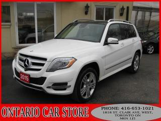 Used 2015 Mercedes-Benz GLK 250 BLUETEC 4MATIC NAVIGATION 360CAM for sale in Toronto, ON