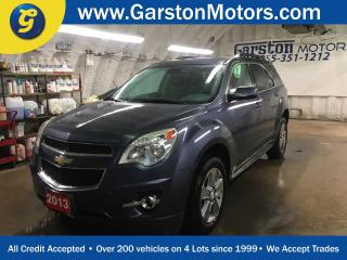 Used 2013 Chevrolet Equinox LT*BACK UP CAMERA**POWER DRIVER SEAT*HEATED FRONT SEATS*PHONE CONNECT*KEYLESS ENTRY w/REMOTE START* for sale in Cambridge, ON
