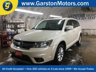 Used 2013 Dodge Journey SXT*7 PASSENGER********AS IS SALE********TRI ZONE CLIMATE CONTROL w/REAR AIR CONTROL*POWER DRIVER SEAT*KEYLESS ENTRY* for sale in Cambridge, ON