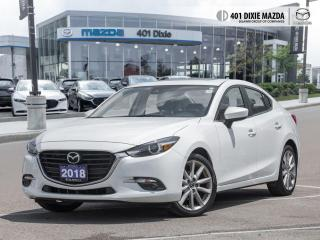 Used 2018 Mazda MAZDA3 GT 0.99% FINANCE AVAILABLE| ONE OWNER| MANUAL TRAN for sale in Mississauga, ON