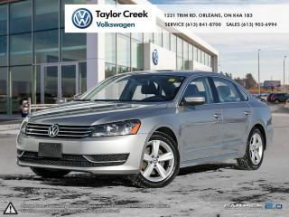 Used 2013 Volkswagen Passat Comfortline 2.5 6sp at w/ Tip for sale in Orleans, ON