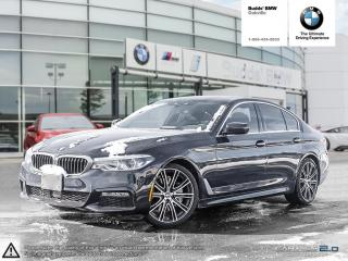 Used 2017 BMW 540i xDrive Sedan for sale in Oakville, ON