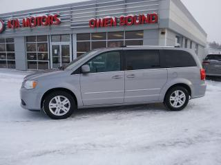Used 2013 Dodge Grand Caravan Crew for sale in Owen Sound, ON