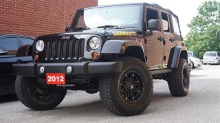 Used 2012 Jeep Wrangler Sahara,Low KMs,Bluetooth for sale in North York, ON
