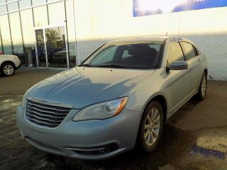 Used 2013 Chrysler 200 TOURING/LEATHER/HEATED SEATS/BLUETOOTH for sale in Edmonton, AB