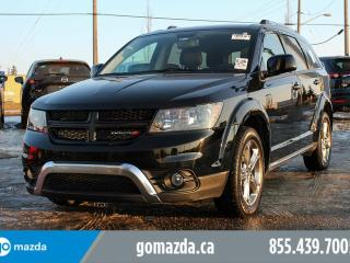 Used 2016 Dodge Journey Crossroad AWD DVD LEATHER for sale in Edmonton, AB