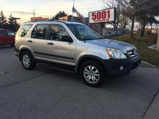 Used 2006 Honda CR-V SE,AWD,AUTO,SAFETY+3YEARS WARRANTY INCLUDED for sale in North York, ON