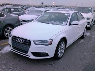 Used 2014 Audi A4 2.0T QUATTRO PROGRESSIV |NAV|ROOF|P.START|79,000KM for sale in Scarborough, ON