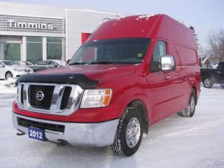 Used 2012 Nissan NV 2500 S for sale in Timmins, ON
