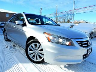 Used 2011 Honda Accord EX-L | NAVIGATION.CAMERA | LEATHER.ROOF | 97KM for sale in Kitchener, ON