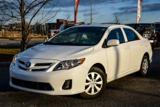 Used 2013 Toyota Corolla CE HEATED SEATS A/C POWER GROUP for sale in Gatineau, QC
