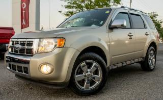 Used 2010 Ford Escape LIMITED, V6, AWD, LEATHER, SUNROOF for sale in Gatineau, QC
