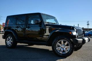 Used 2015 Jeep Wrangler 4X4, UNLIMITED, SAHARA, GPS, 2 TOP for sale in Gatineau, QC