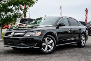 Used 2013 Volkswagen Passat COMFORTLINE, LEATHER, SUNROOF for sale in Gatineau, QC