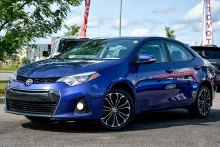 Used 2014 Toyota Corolla S, SUNROOF, EXTENDED WARRANTY for sale in Gatineau, QC
