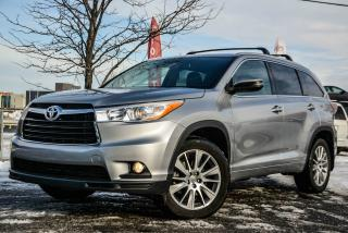 Used 2015 Toyota Highlander XLE, 4X4, GPS, LEATHER, SUNROOF, BACK CA for sale in Gatineau, QC