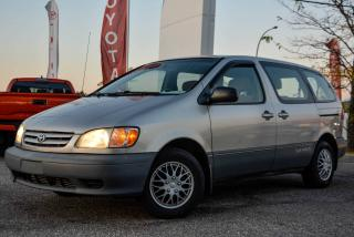 Used 2001 Toyota Sienna CE, A/C, POWER GROUP for sale in Gatineau, QC