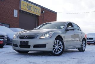 Used 2007 Infiniti G35 Luxury,Navi,Camera,Bluetooth for sale in North York, ON