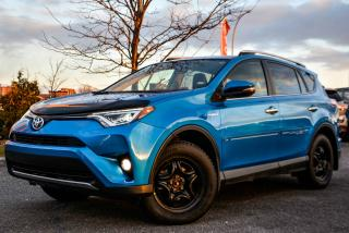 Used 2016 Toyota RAV4 Hybride HYBRIDE LIMITED GPS LEATHER MAG FULL for sale in Gatineau, QC