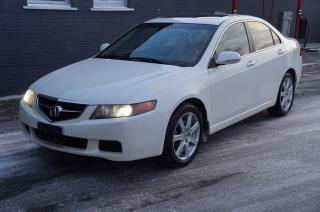 Used 2004 Acura TSX Leather Sunroof Clean Car! for sale in North York, ON