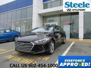 Used 2017 Hyundai Elantra 2.4L GLS Sunroof Camera Blindspot Htd Wheel backup sensors LOW RATES! for sale in Halifax, NS