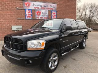 Used 2006 Dodge Ram 1500 SLT/4X4/5.7L/HEMI/NO ACCIDENT/SAFETY/WARRANTY INCL for sale in Cambridge, ON