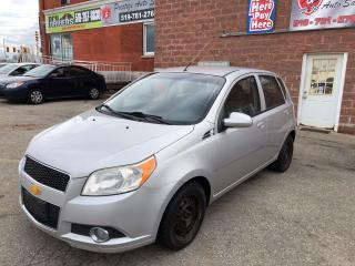 Used 2009 Chevrolet Aveo ONE OWNER - NO ACCIDENT - SAFETY/WARRANTY INCLUDED for sale in Cambridge, ON