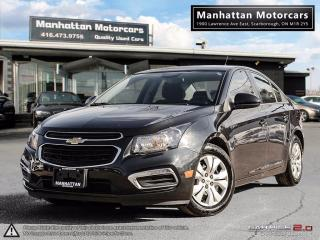 Used 2015 Chevrolet Cruze LT AUTO |BLUETOOTH|CAMERA|WARRANTY|51000KM for sale in Scarborough, ON