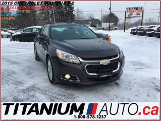 Used 2015 Chevrolet Malibu LT-2+Camera+Heated Leather+Remote Starter+Sunroof+ for sale in London, ON