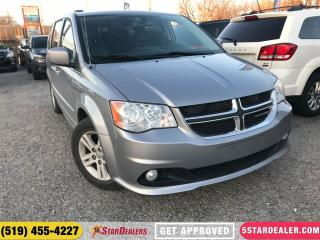 Used 2014 Dodge Grand Caravan Crew | LEATHER | NAV | DVD | CAM for sale in London, ON