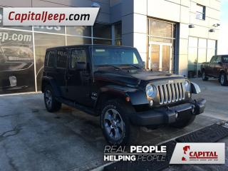 Used 2016 Jeep Wrangler Unlimited Sahara for sale in Edmonton, AB