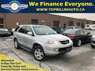 Used 2003 Acura MDX 3.5 4WD 2 YEARS Powertrain Warranty for sale in Concord, ON