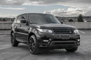 Used 2015 Land Rover Sport Super Charged Autobiogra WOW! SuperCharaged Low KM for sale in Langley, BC