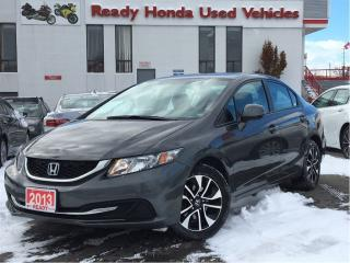 Used 2013 Honda Civic EX - Sunroof - Alloys - Back Up Camera for sale in Mississauga, ON